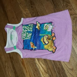Justice for girls tank top sz 10